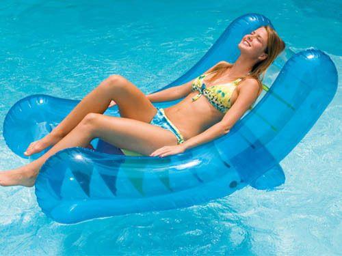 Swimline 90417 Inflatable Swimming Pool Pond Lake Rocker