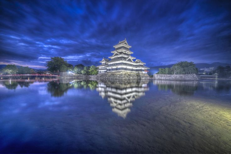 National Treasure Matsumoto Castle - ARTFreeLife