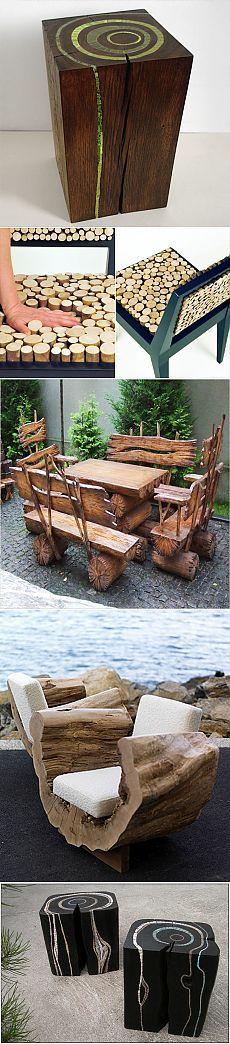 Мебель из дерева — стулья своими руками - Чудесная дача