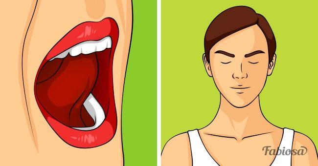 Коснитесь языком своего нёба и сделайте глубокий вдох. Результат вас приятно удивит!