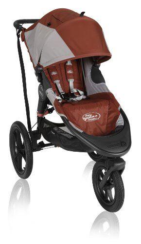 Baby Jogger Summit X3 Single Stroller, Orange - List price: $429.99 Price: $299.99 #BabyJogger