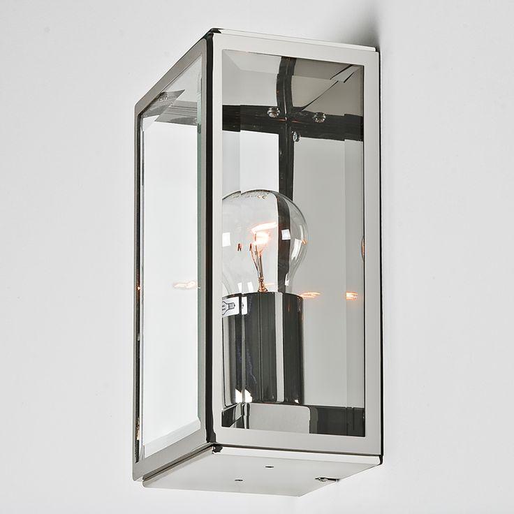 Illuminazione per esterni Homefield - Nichel lucido 1 lume