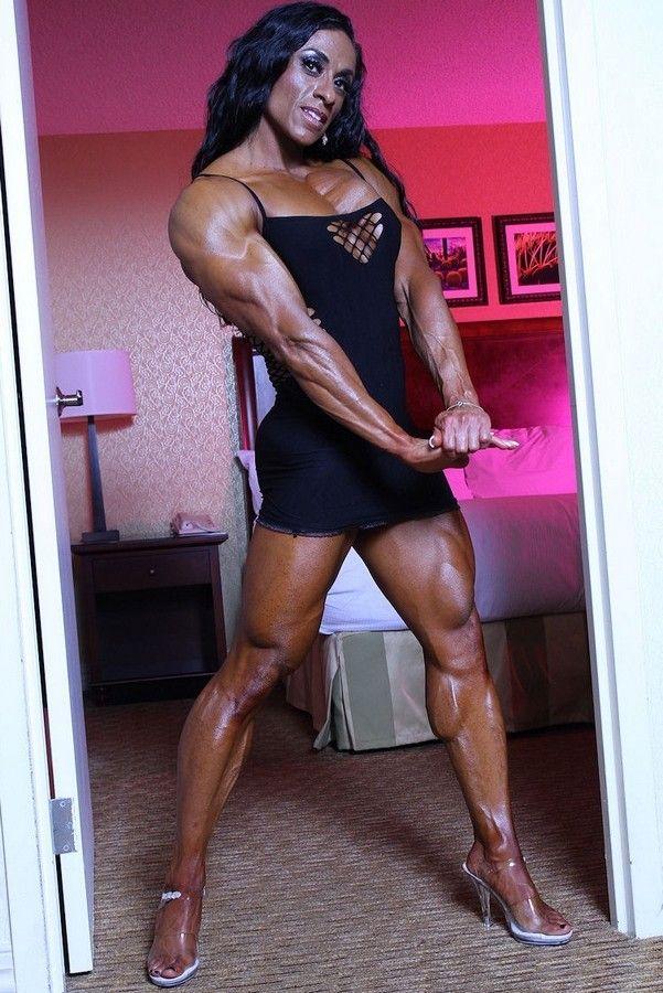 Les femmes de mes reves: Susan Salazar. | Lady Muscle | Pinterest | I