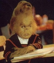 Dear Little Grinch, I love you and hope my children look like you.