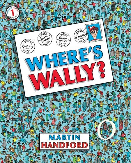 Where's Wally? by Martin Handford This book provides the kind of eyesight test children enjoy. Finding Wally hidden in the dense and detailed illustrations will reveal previously unknown powers of concentration. A good car trip choice. Read more at http://www.bubhub.com.au/hubbub-blog/top-10-best-books-for-children-aged-3-5-years/#moU17vVvCf24dreA.99