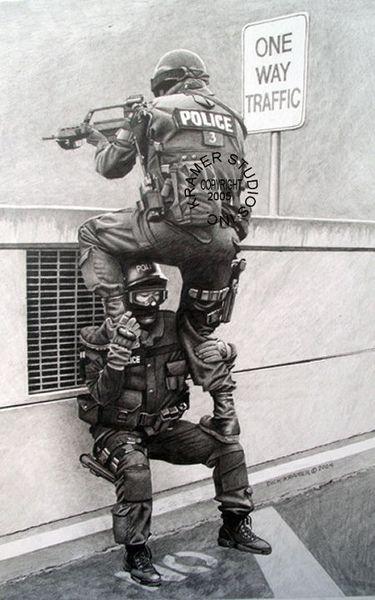 dick kramer military art