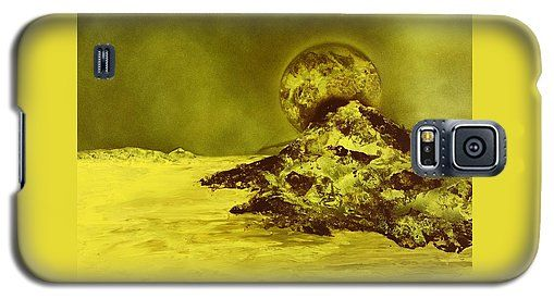 Printed with Fine Art spray painting image Golden Shore by Nandor Molnar (When you visit the Shop, change the orientation, background color and image size as you wish)
