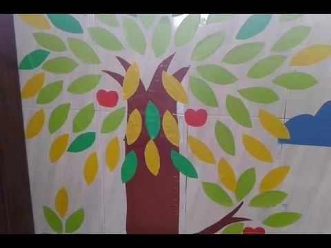 Cara Menghias Kelas Dengan Gambar Pohon
