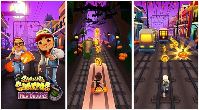Subway Surfers per Windows Phone 8 si aggiorna e porta il tour a New Orleans http://www.sapereweb.it/subway-surfers-per-windows-phone-8-si-aggiorna-e-porta-il-tour-a-new-orleans/        Subway Surfers è un popolare gioco mobile arrivato prima su iOS (totalizzando oltre 25 milioni di download), successivamente su Android e dal mese di dicembre anche su Windows Phone 8.  Questo particolarerunner game nella versione per Windows Phone 8 in queste ore ha...