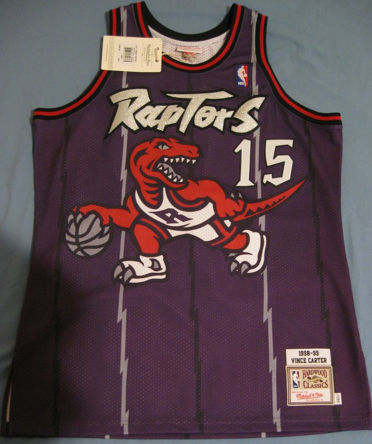 low priced 114d9 2972b nba jerseys toronto raptors 15 vince carter front purple ...