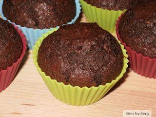 Bites by Berg: Amerikanske chokolademuffins