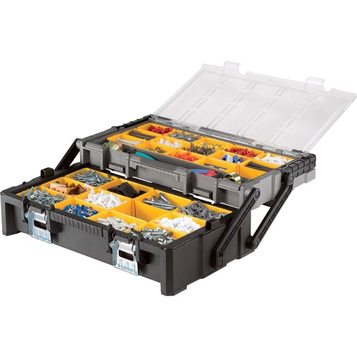 Keter Cantilever Organizer - 22in., Model# 17185073 [Misc.] - Husky Tool Box - Amazon.com