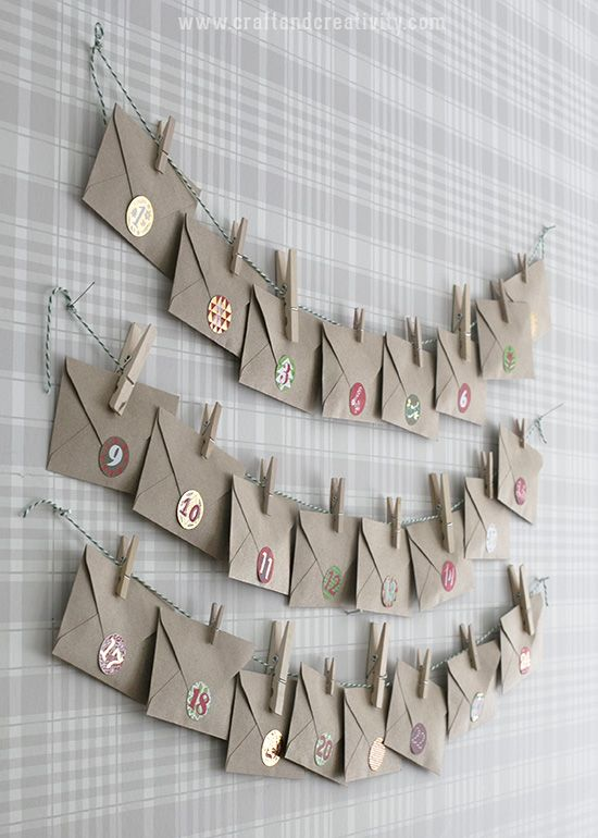 Gör en te-adventskalender – Make a tea advent calendar | Craft & Creativity | Bloglovin'