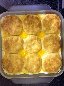 the Three Little Birdies: {recipes} Chicken & Biscuit Casserole