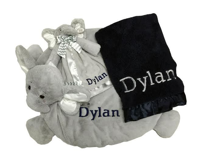 39 best corporate baby gifts images on pinterest baby gifts babys namely newborns personalized baby boy gift set navy and gray blankets 12300 negle Image collections