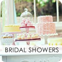 Bridal Shower Sweet Setup