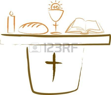Komunia wi ta o tarz i symbole religijne Zdjęcie Seryjne