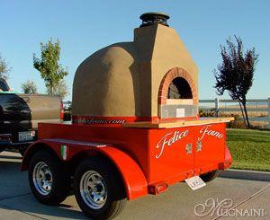 Mugnaini Mobile Pizza Oven
