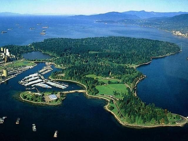 Stanley Park, Vancouver, British Columbia, Canada - 2014 world's most beautiful park!