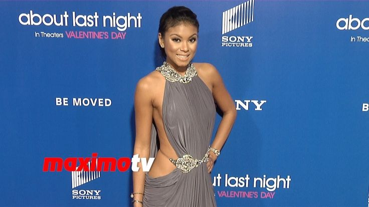 """Eniko Parrish (Kevin Hart's Girlfriend) """"About Last Night"""" Los Angeles P..."""
