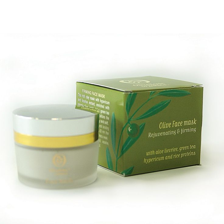Olivellenic organics olive face mask
