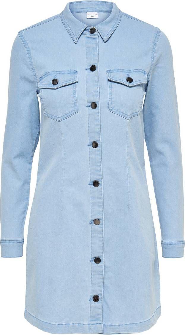 Jeanskleid von JACQUELINE De YONG. Schnelle und kostenlose Lieferung. 100 Tage…