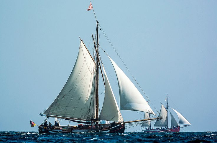 Gaff cutter Freja in the Baltic | by olivr