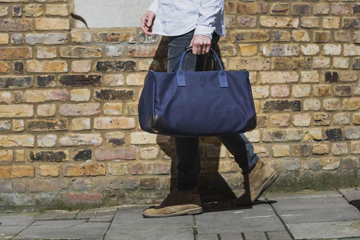 The Bennett Winch Commuter Bag In Navy