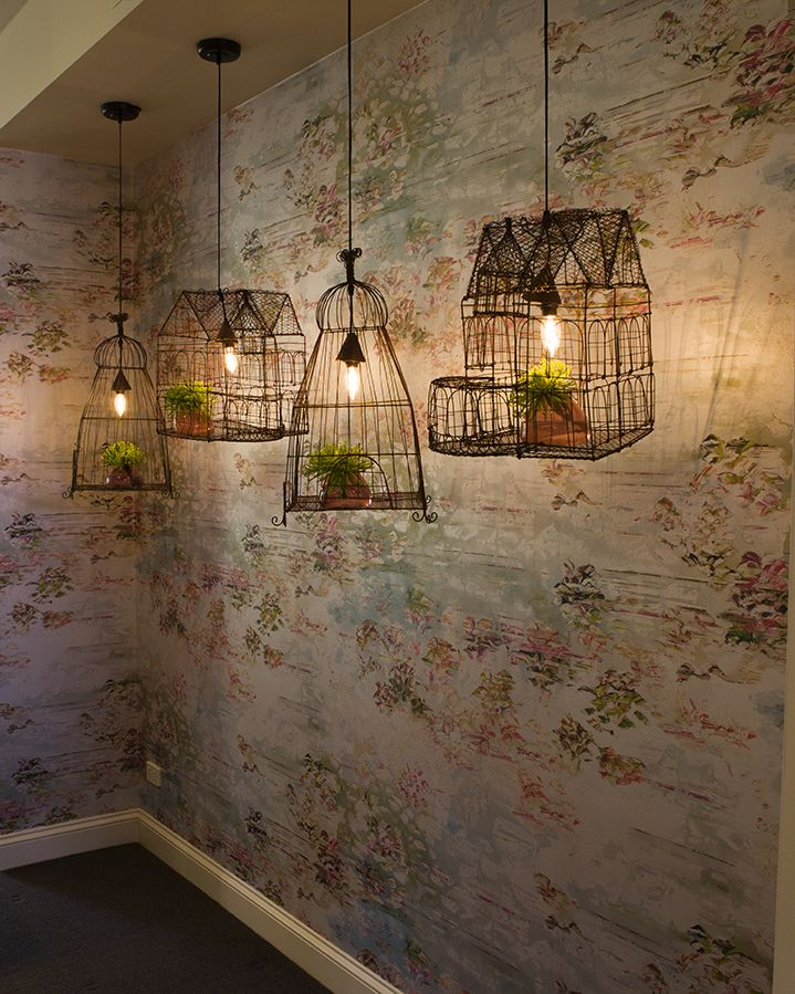 Black Edition Jessica Zoob wallpaper and our little homes of light. Studio dressed for Afternoon Tea in support of the National Breast Cancer Foundation.