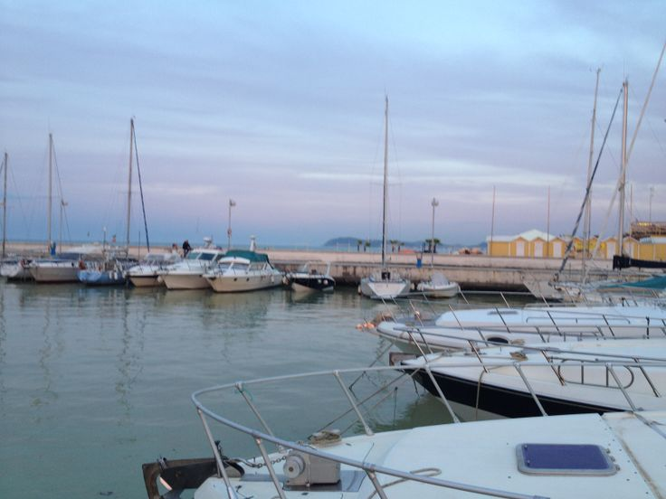 Il porto di Riccione in una serata di Maggio 2014