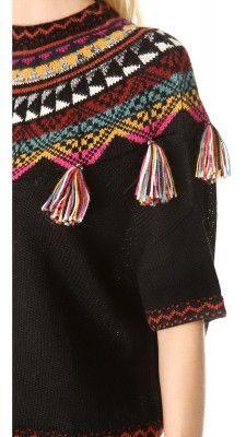 sweet knitted wool sweater ftom Carolina K.