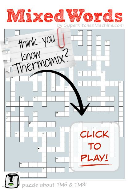Think you know Thermomix? Time to play MixedWords and find out...