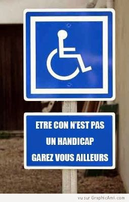 Ce n'est pas un handicap. Enfin, pas encore...
