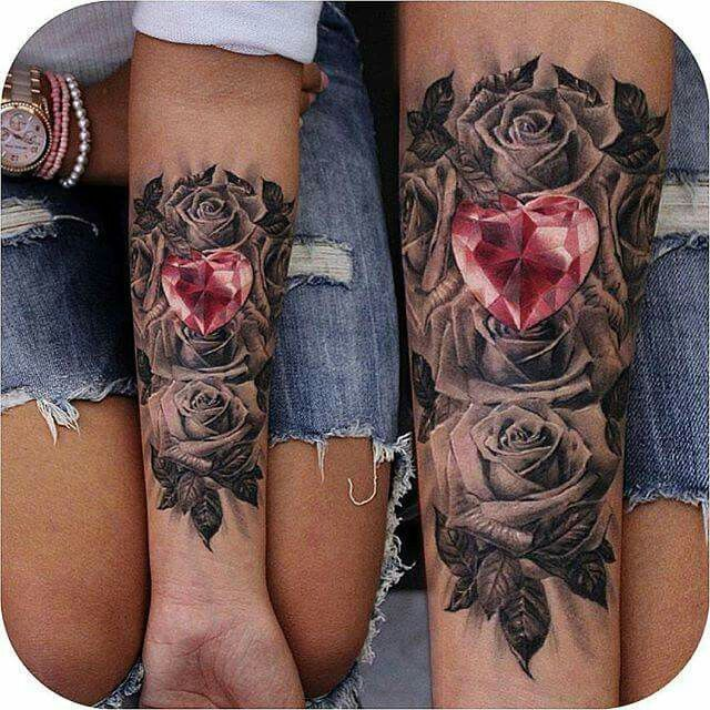 40+ Attractive and Sexy Rose Tattoo Design Ideas