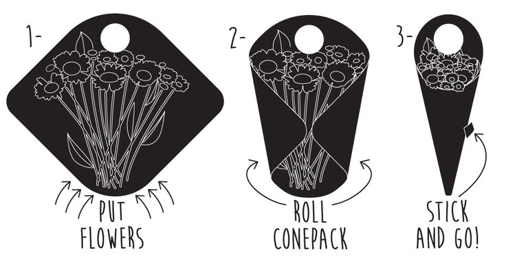 Tomish Design - Conepack - Design produit et Packaging floral