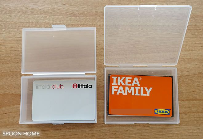 100均セリア カードケース のおしゃれな収納アイデア 使い方をブログでレポート 収納 アイデア 収納 セリア