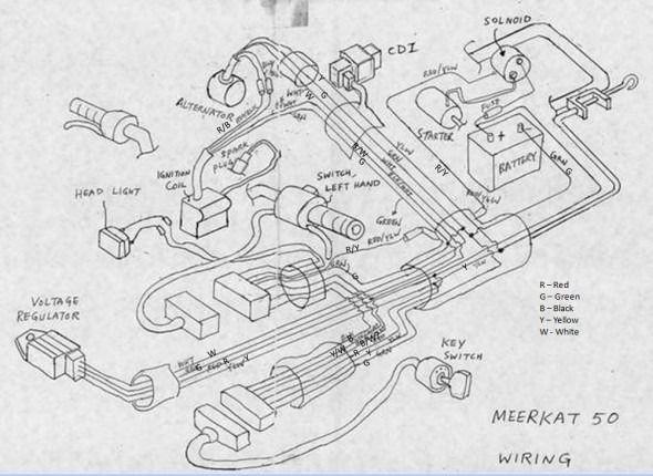 kazuma cdi ignition wiring diagram
