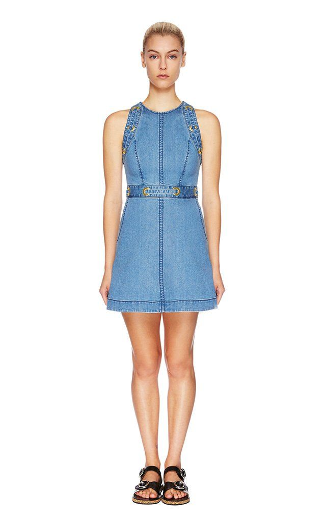 Lover - Ranger Denim Mini Dress
