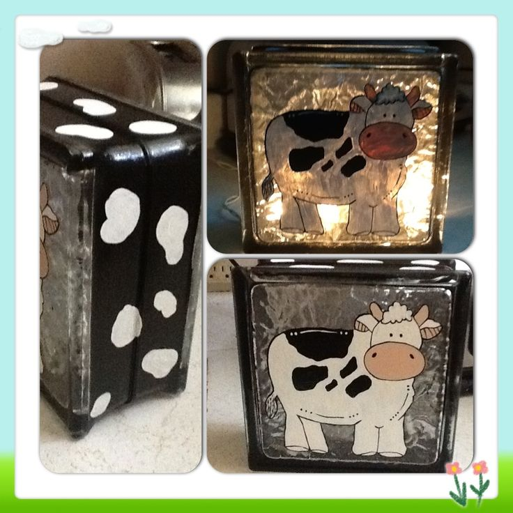 String Lights For Glass Blocks : 150 best images about dairy crafts/ activities on Pinterest Cow, Activities and Cow craft