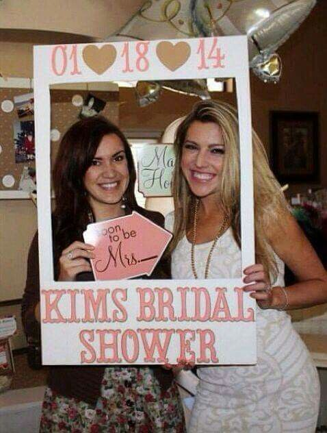 Great idea for a bridal shower