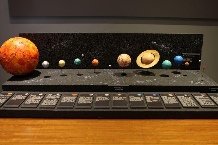 Sistema Solar; Maquete Sistema Solar; Planetas; Solar System; Planets; Sol; Sun