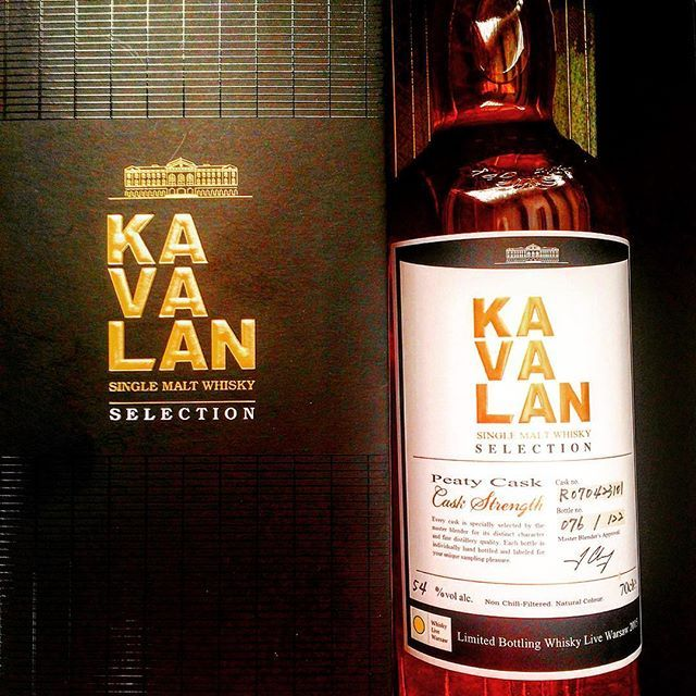 Limited bottling for Whisky Live Warsaw Kavalan Peated #kavalan #kavalandistillery #taiwan #singlecask #singlemalt #whisky #whisky_droid #whiskyporn #caskstrength #tudorhouse #ballantinesshop #peated