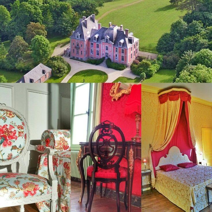 Le château de Chantore  Normandie France