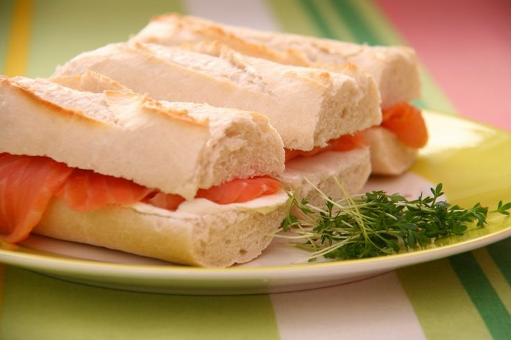 Salmon Cream Cheese Sandwiches Images