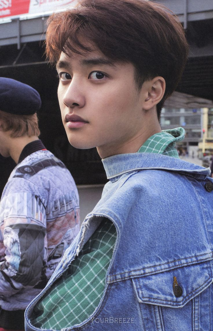 Kyungsoo looking magnificent (he looks like my chihuahua when he gets scared >.<)