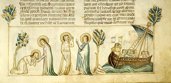Vitae patrum, MS M.626 fol. 136r - Images from Medieval and Renaissance Manuscripts - The Morgan Library & Museum