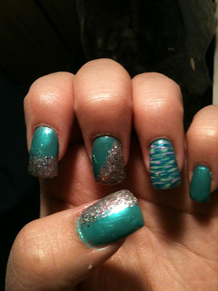 my very own nail design! | Nails | Pinterest