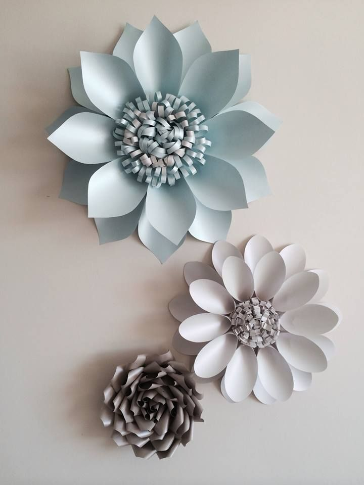 how to make flowers with handmade paper