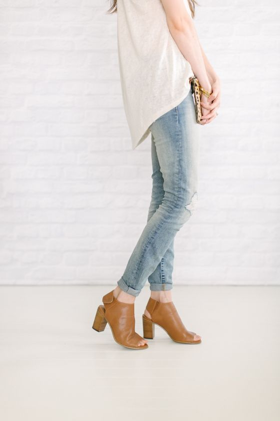 Unfancy Blog: 90 Best How To Wear: Peep Toe Boots Images On Pinterest