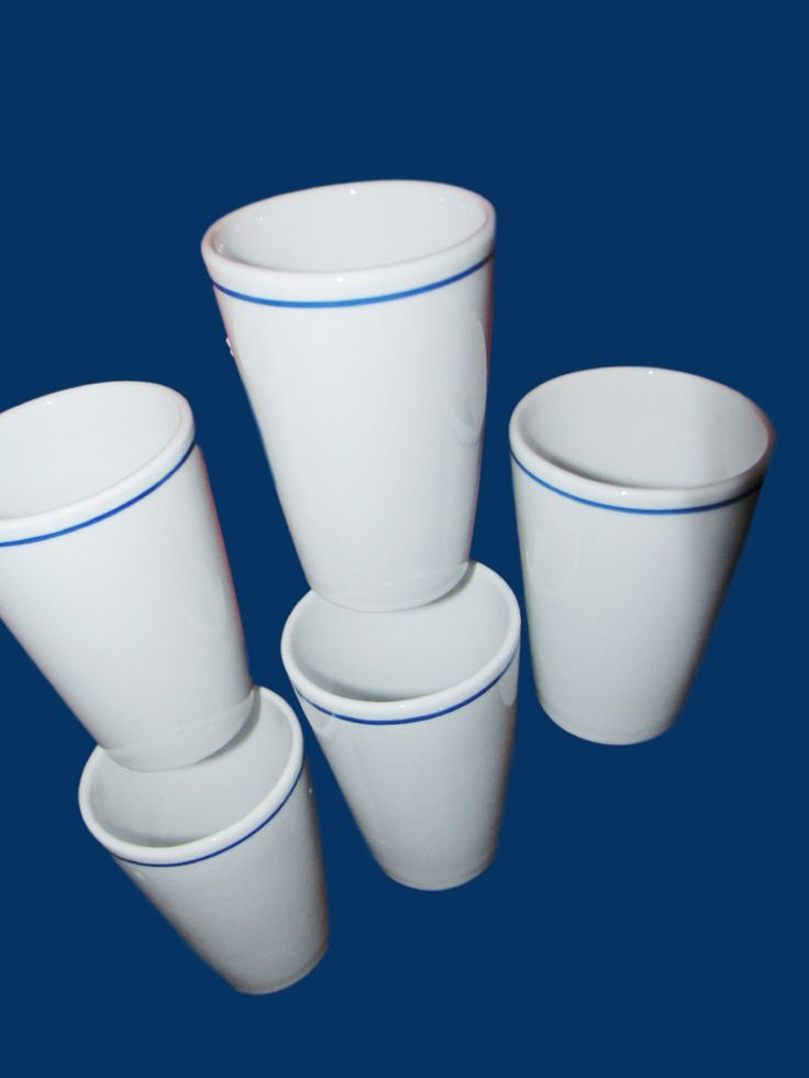 Five Mosa Maastricht Milk Cups-Tumblers Without Handles by trackerjax on Etsy